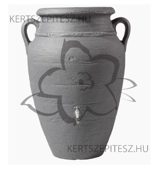 ANTIQUE Fali-Amphora 260 L sötét gránit Magasság 120 cm, Ø 88/54 cm