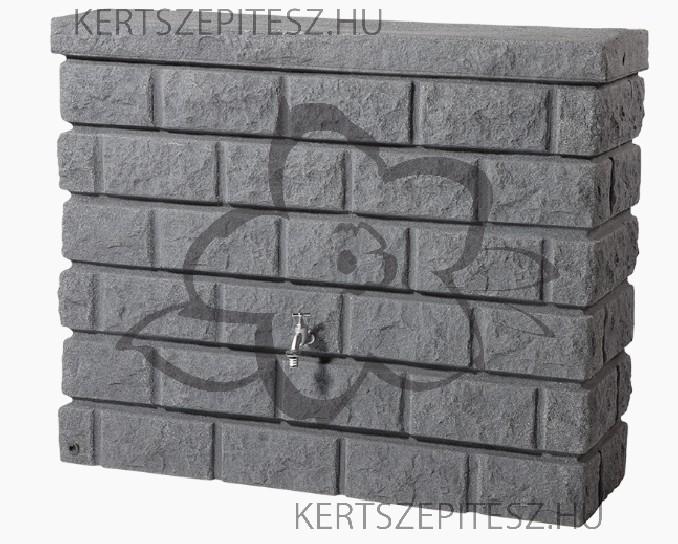 ROCKY esővízgyűjtő 400 liter sötét gránit 100 x 120 x 40 cm
